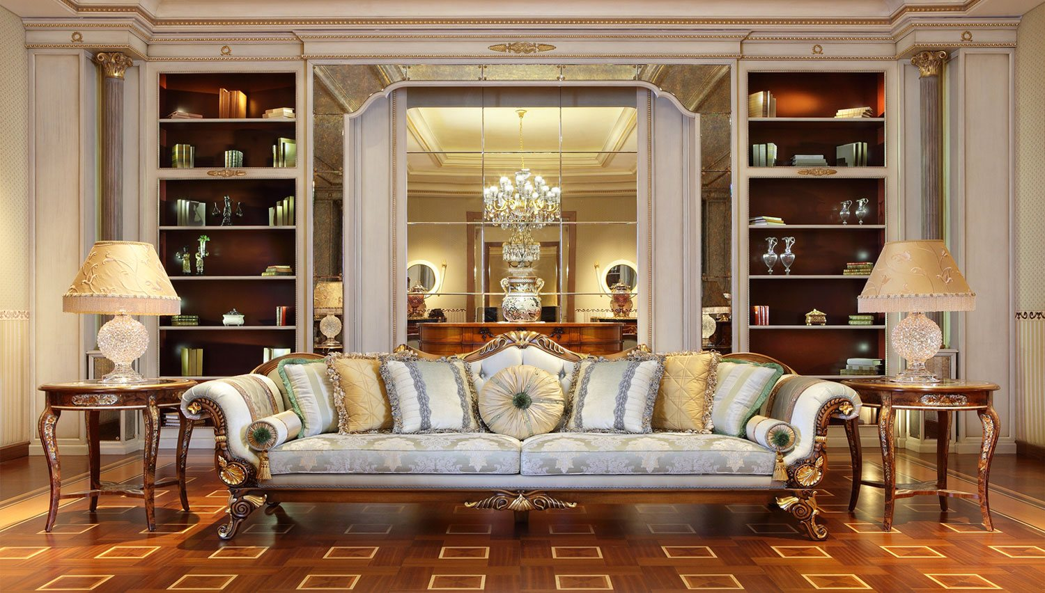 Luxury interior designers furniture roberto cavalli in dubai At home furniture dubai